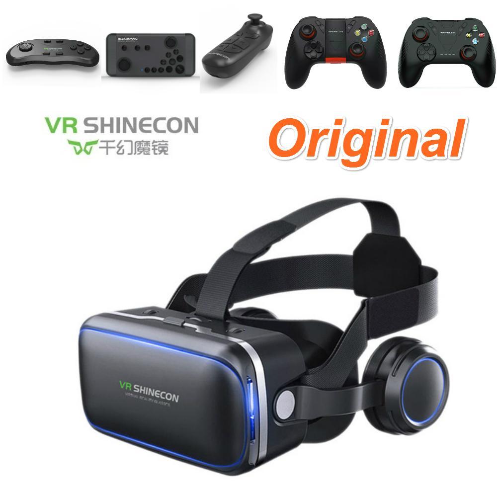 0819e3ceadb Casque Stereo Shinecon VR Box Virtual Reality Glasses 3D VR Goggles ...