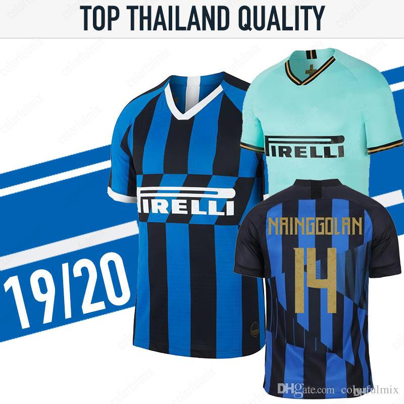 best loved f0b92 1f0be 19/20 INTER SOCCER JERSEY LAUTARO ICARDI PERISIC NAINGGOLAN milan football  shirt 2019 2020 INTER 20 anniversary POLITANO maillot de foot