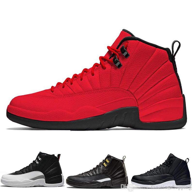 3e2b3af6e7f8 Gym Red 12 Mens Basketball Shoes 12s Bulls Michigan Winterized WNTR TAXI  The Master Wings Trainers Sports Sneakers Size 7 13 Sneakers Sale  Basketball Shoes ...