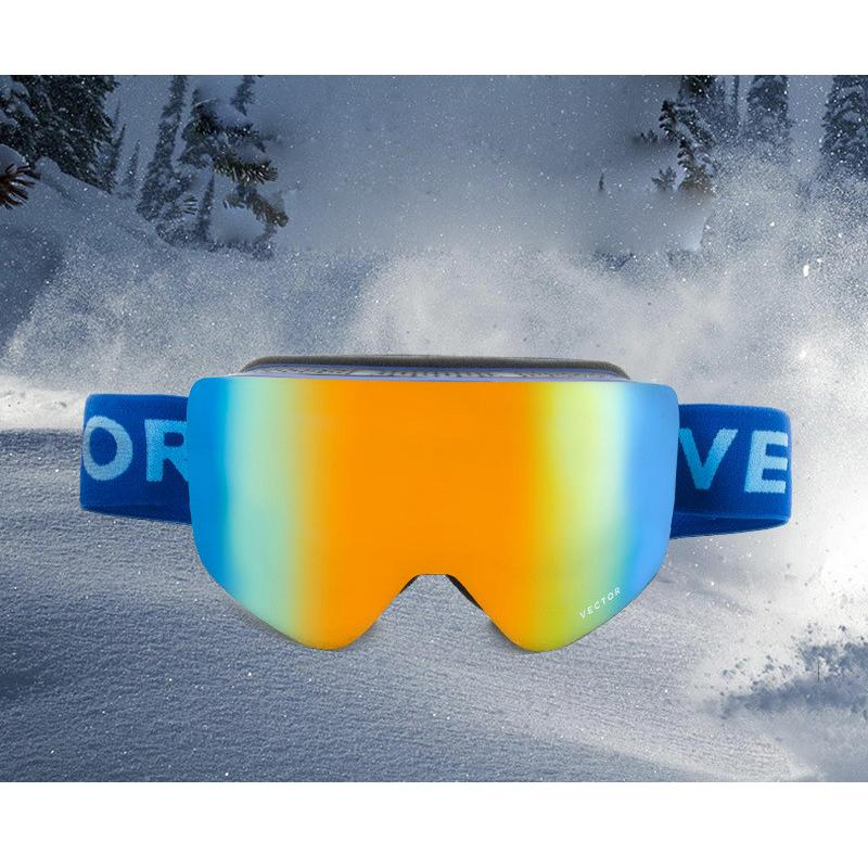 9c9e7969ad8 Cool Outdoor Ski Goggles Windproof Skiing Glasses Double-layer Lens ...