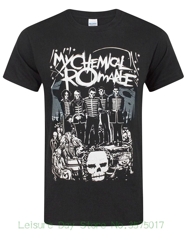 Personalized T Shirt Custom T Shirt My Chemical Romance The Black