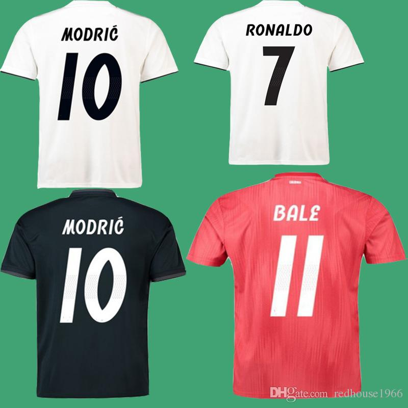 on sale d0ce0 22477 New 18 19 real madrid soccer jersey MARCELO MODRIC KROOS ASENSIO VINICIUS  ISCO camiseta maillot de foot Football Shirt