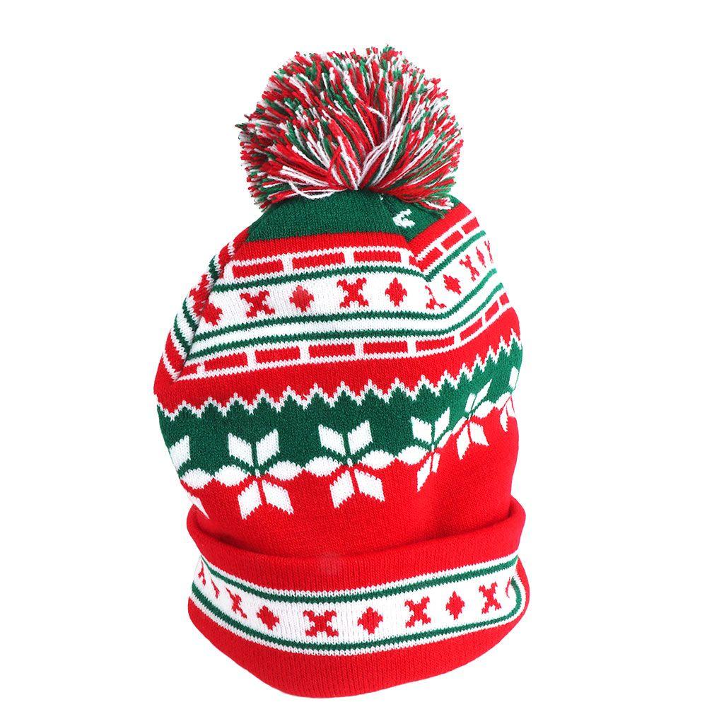 a8f3e9387ed Unisex Fashion Clothing Winter Warm Accessories Christmas Hat ...