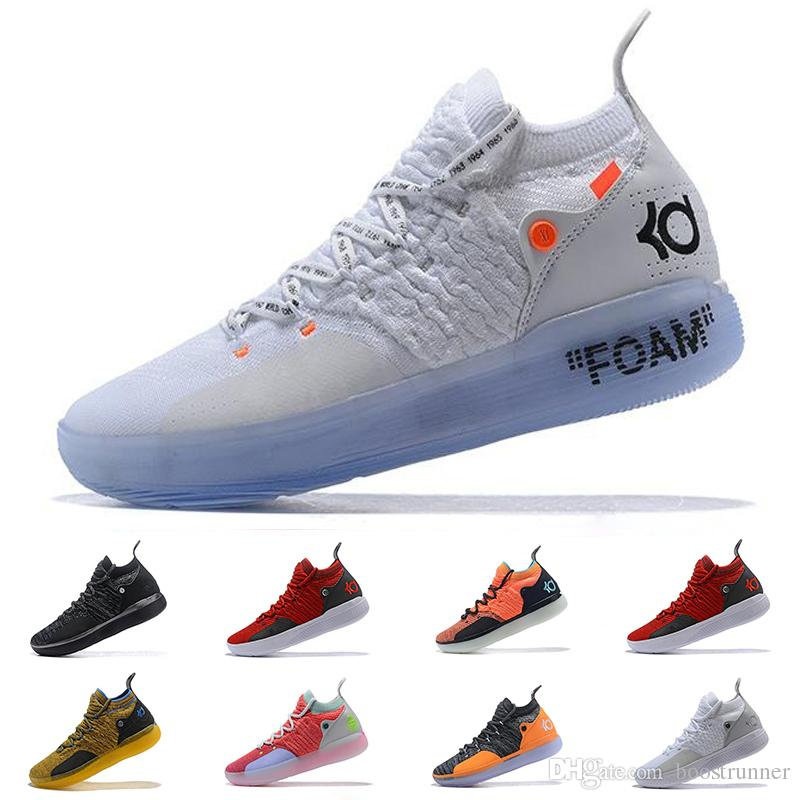 ce1a3d662ed3 2019 Concord KD 11 11s Men Basketball Shoes EP White Orange Foam Pink  Paranoid Oreo Kevin Durant XI KD11 Mens Trainers Designer Sneakers Sport  Shoes Mens ...
