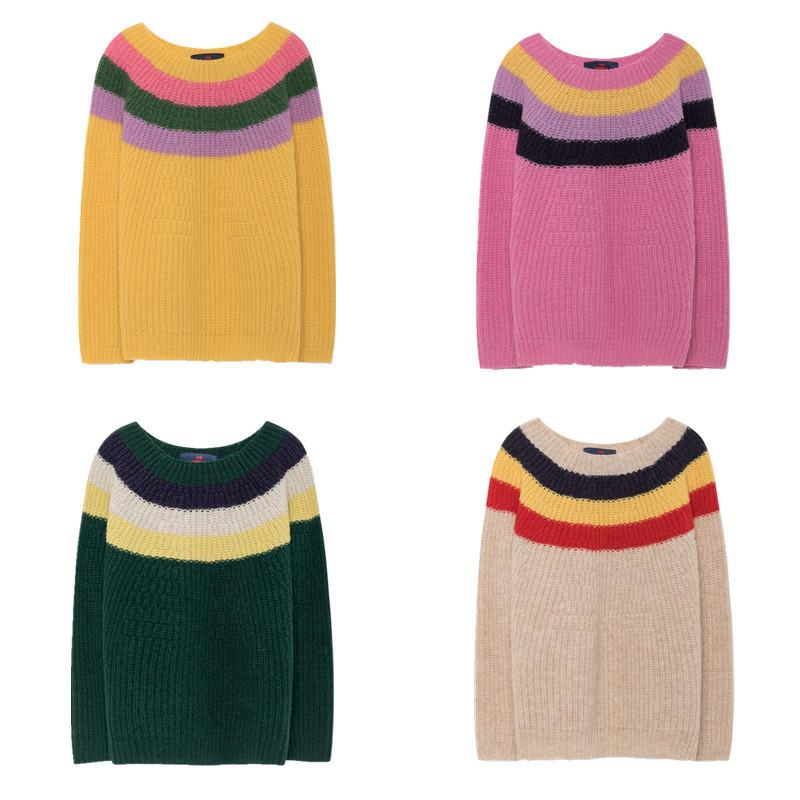 67aea0bdb Kids Knitted Raven Sweater TAO 2019 Baby Boys Girls Knitwear Long ...
