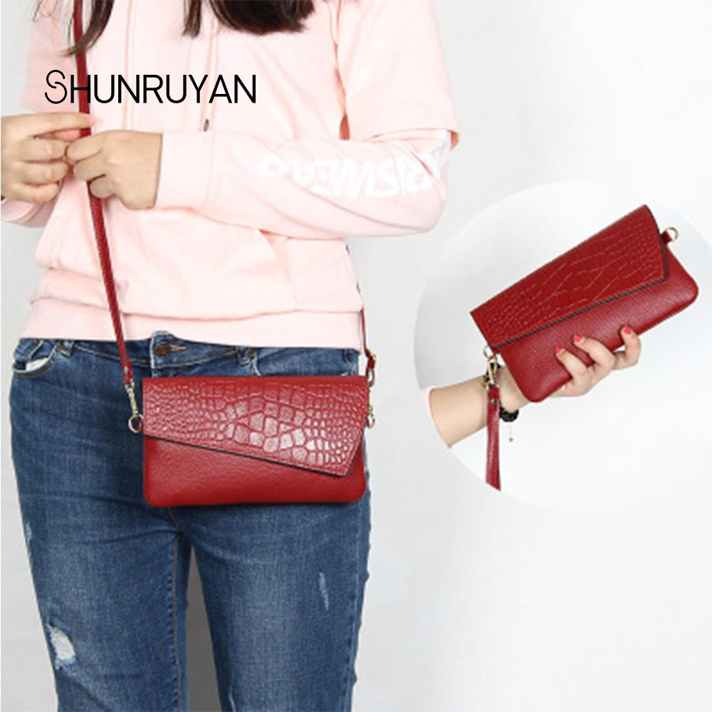 306c26f91466 SHUNRUYAN 2019 New Fashion Phone Bag Women Purses Wallets Female ...