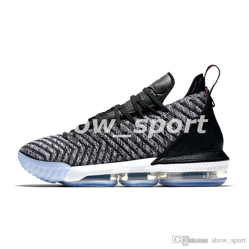 check out 604e9 efd7b Lebron Mens Basketball Shoes James What the Lebron 16 Multicolor Thru  Lakers Oreo FRESH BRED trainers sports sneaker LBJ Lebrons Chaussures