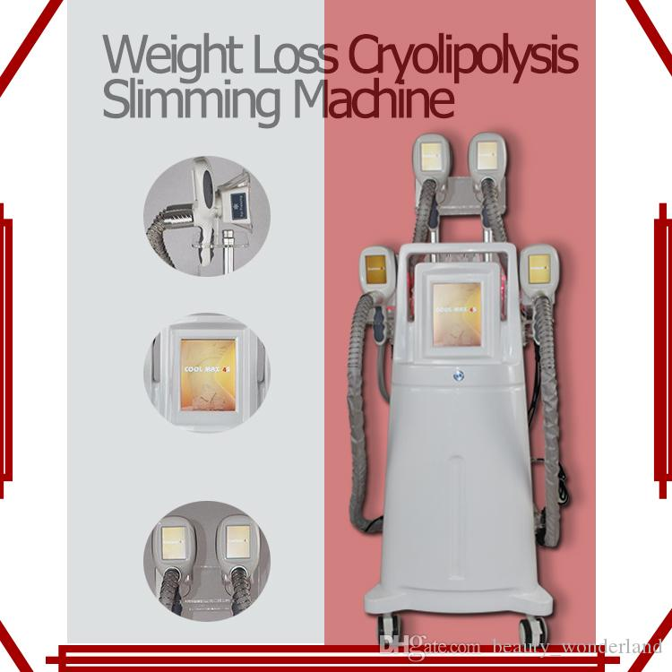 4 in1 cryolipolysis coolsulpting machine fat freezing weight loss cryolipolysis slimming machine 4 cryo handles work together