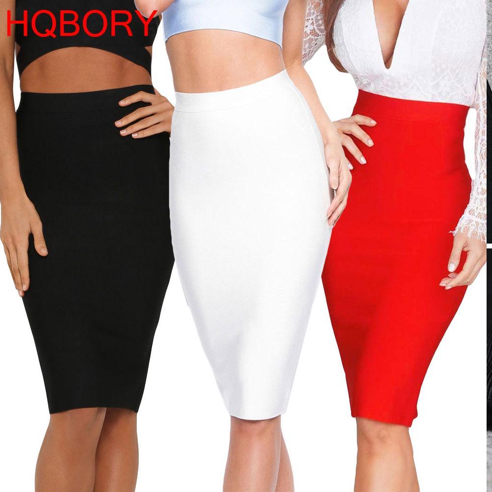 45ff477149 2019 White Sexy Girl Bodycon Womens 2019 New Knee Length Midi Hl ...