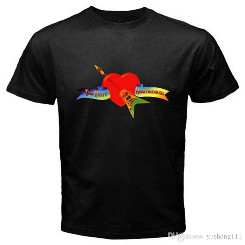 ba7554434 Clever Shirts The Heartbreakers Men'S Crew Neck Short Sleeve Summer Tee  Shirt Funniest T Shirts Mens Funny T Shirts From Jie75, $14.67| DHgate.Com