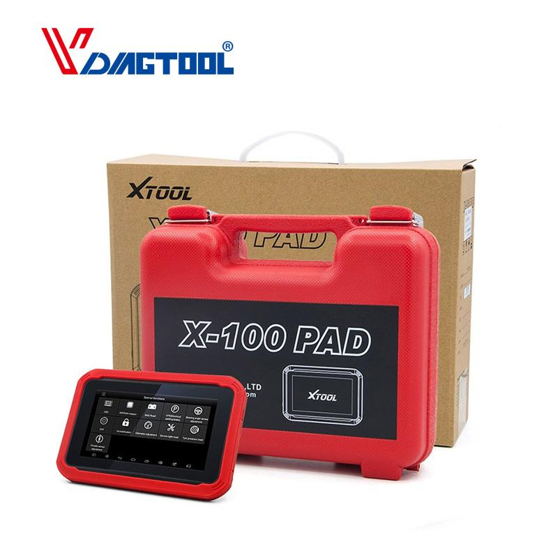100% Original XTOOL X100 PAD Same Function as X300 X100 Pad Auto Key Programmer with Special Function Update Online X300 pro