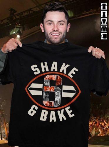 f04284bb9 Baker Mayfield Shirt Bake Shake Black Cotton Men Tshirt Cartoon T Shirt Men  Unisex New Fashion Tshirt Funny Tops Humorous T Shirts T Shirts Funny From  ...
