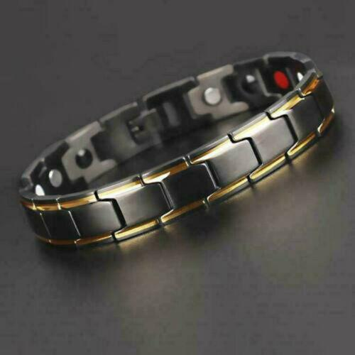 6346b9d6bc7 2019 2019 New Fashion Therapeutic Energy Healing Bracelet Stainless Steel  Magnetic Therapy Bracelet From Atunice, $39.66 | DHgate.Com