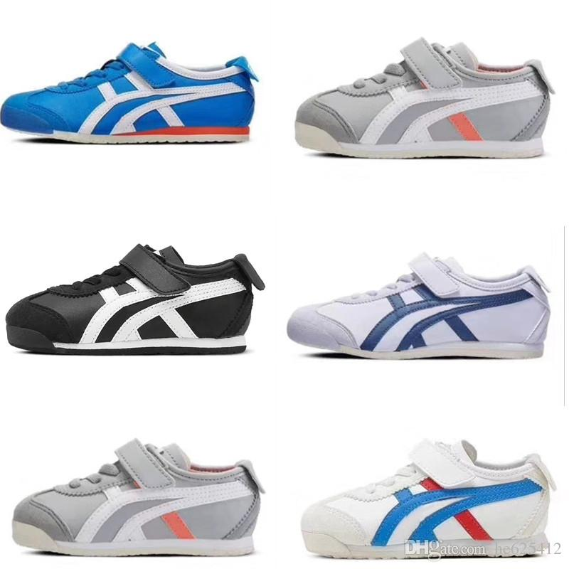 new style edcea bfd5d OS tiger Kids Running Shoes Boys Girls Japanese Famous Trainers Boy Girl  Baby Infant Sports Tennis Shoes