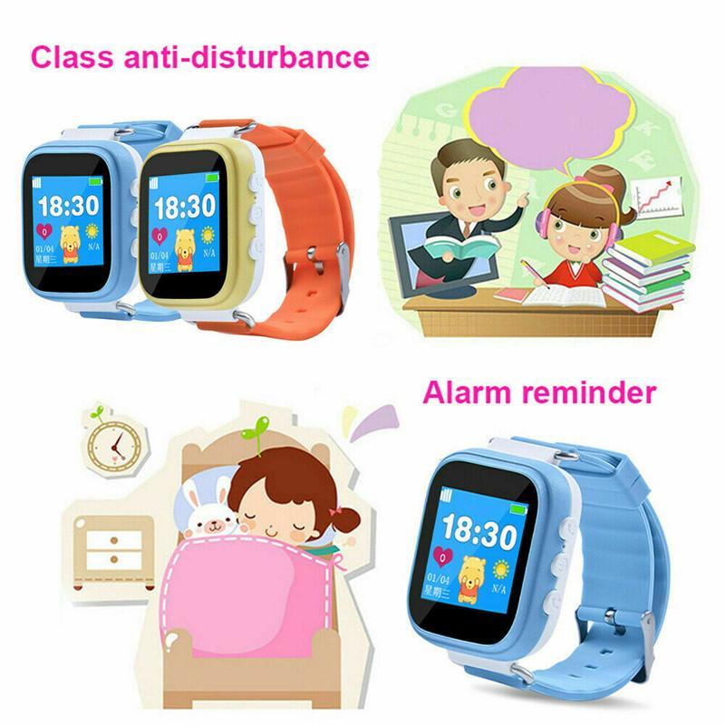 Дети Смарт часы с GPS GSM Locator Tracker SOS вызова Sim двухсторонняя связь Smart Phone Watch Подарок для детей Дети
