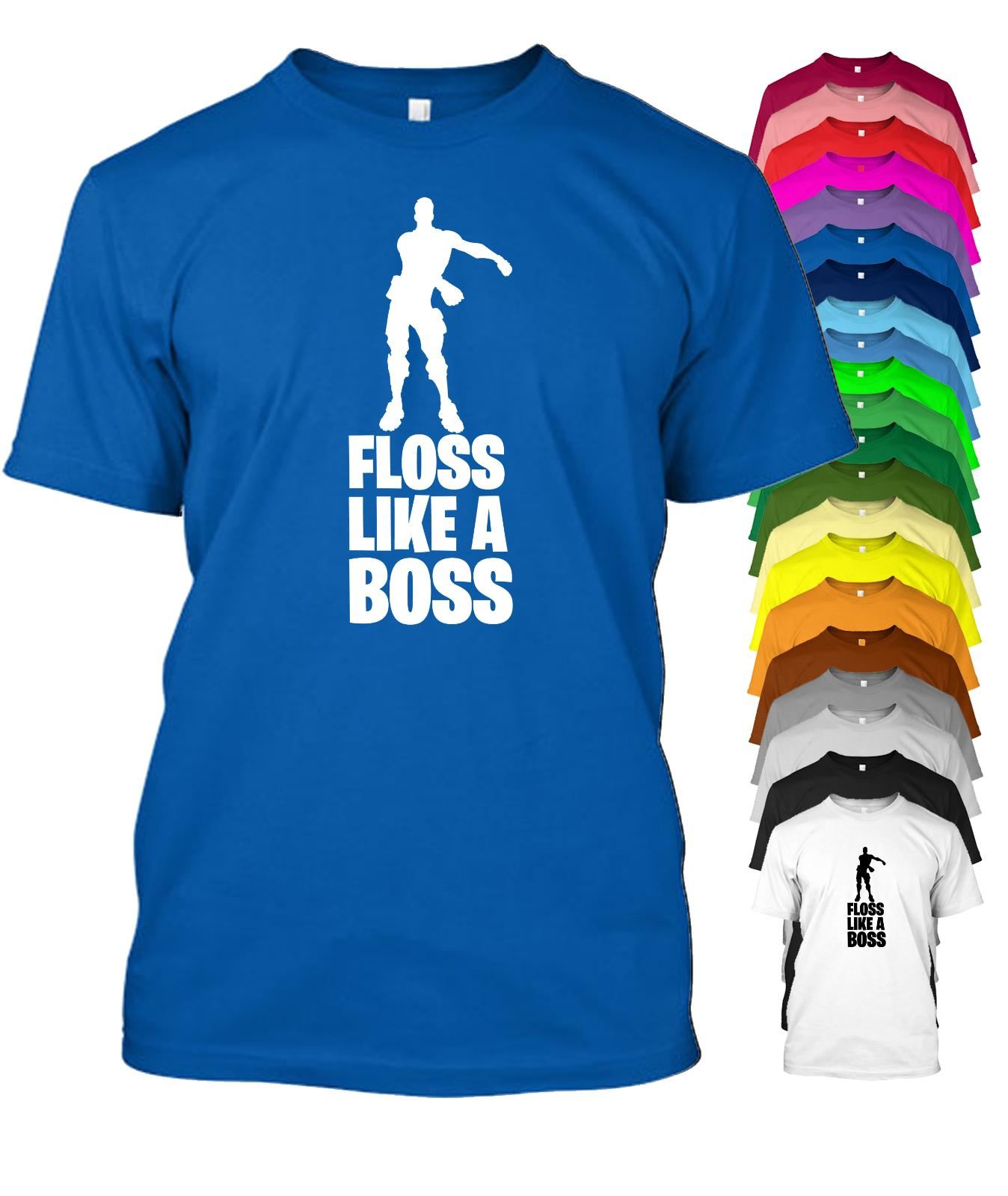 9570bf30e Floss Like A Boss Gaming T Shirt Men Women Child Sizes & 20 Colours Cool  Casual Pride T Shirt Men Unisex Tee Shirt Shop Online One T Shirt A Day  From ...