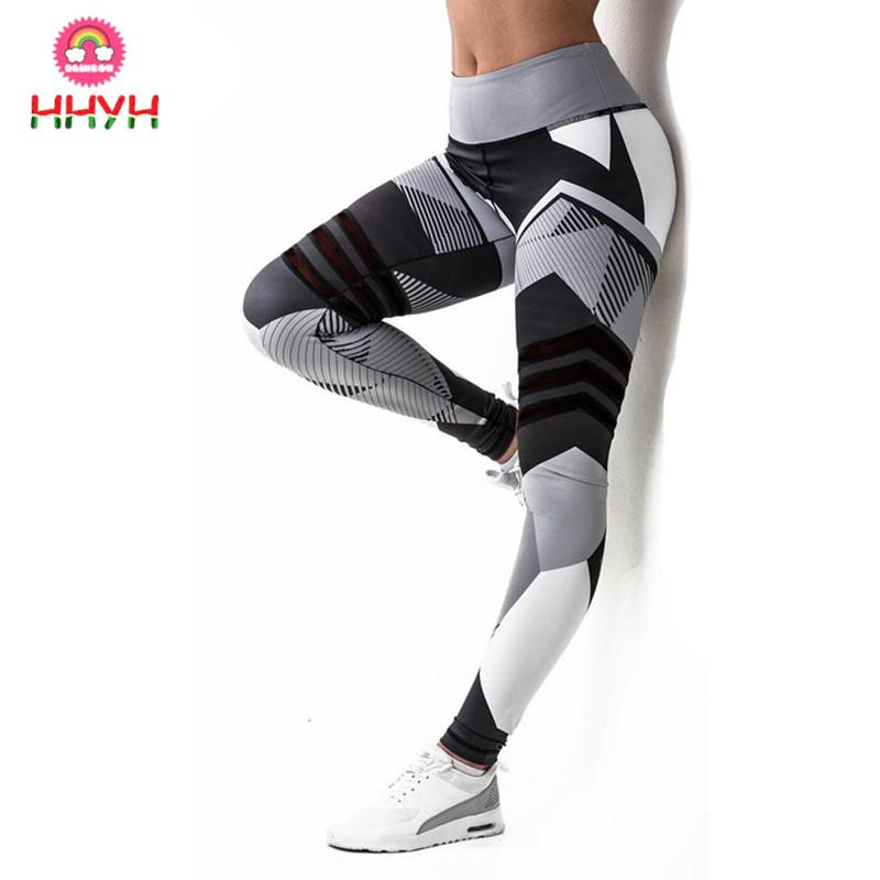 08a05e66030a2 2019 Yoga Pants Women Training Fitness Push Up Jogging Leggings Compression  Tights Gym Workout Slim Running Pants Yoga Leggings Sport Trousers From  Hhyh, ...