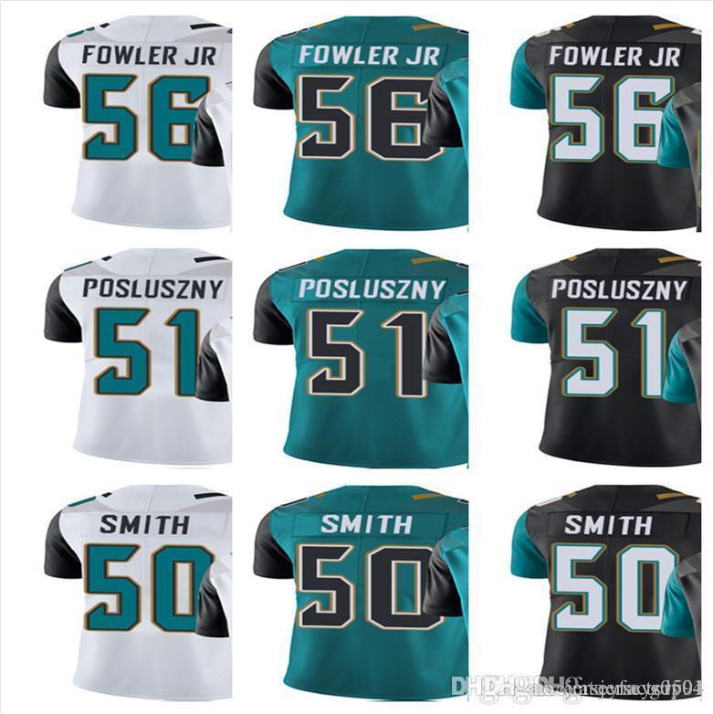 ad4276c98 Custom Jacksonville Jaguar Jersey Men Women Youth  56 Dante Fowler Jr 51 Paul  Posluszny 50 Telvin Smith Vapor Limited Rush Jerseys Online with   29.59 Piece ...