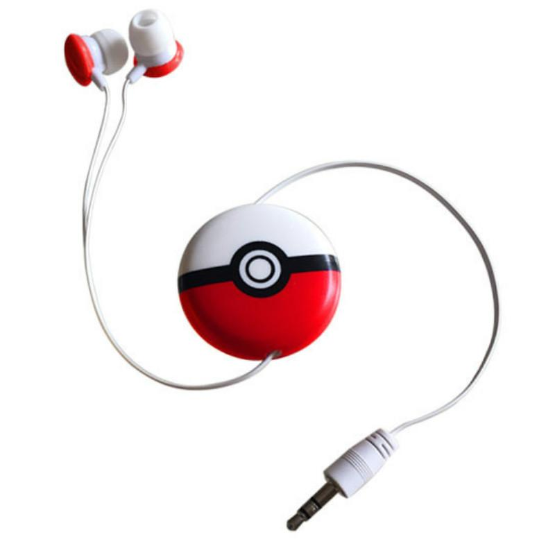 3D Cartoon Headphones Automatic Retractable Earphones for Mobile Phone Computer Cartoon Super Cute Kawaii Earphones In Ear Headphone