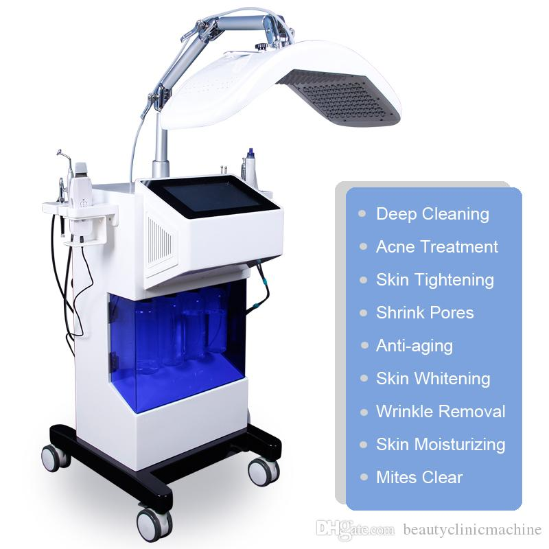 Multifunctional Aqua Hydra Facial skin rejuvanation Water Dermabrasion Oxygen Spray Bio Face Lifting deep cleansing Spa Facial machine