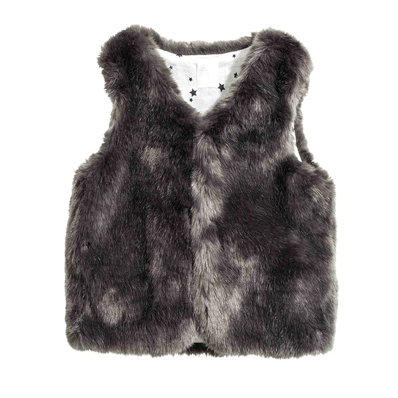 7f4b98a65229b Baby Girl Winter Clothes Faux Fur Vest Kids Coats Warm Waistcoat Kids  Sleeveless Jacket Outfit Child Clothing Outerwear Black Waistcoat For Boys  Baby Boys ...