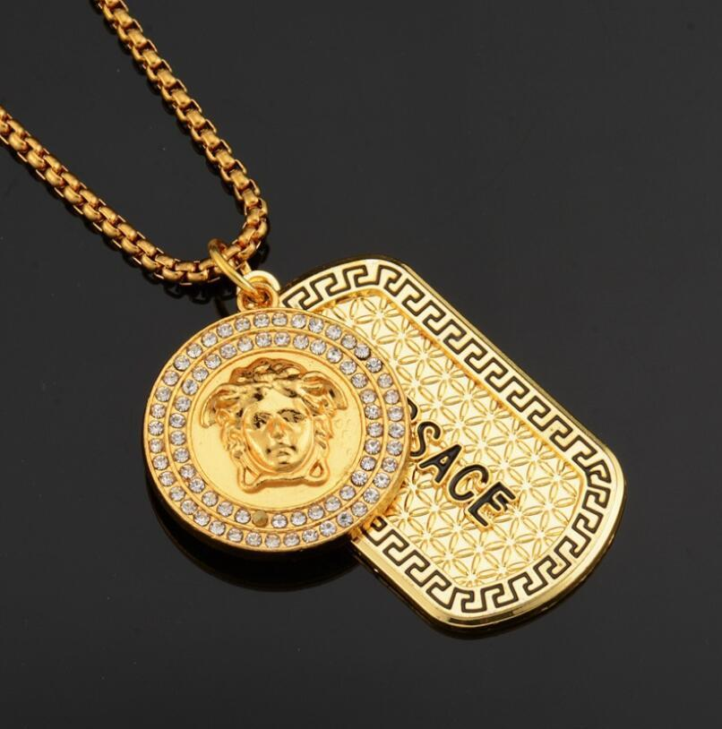 47bcb89b0 Wholesale Mens Iced Out Pendant Hip Hop Designer Jewelry Diamond Necklace  Gold Miami Cuban Punk Link Chain Butterfly Necklace Chain Necklace From  Kebe1, ...