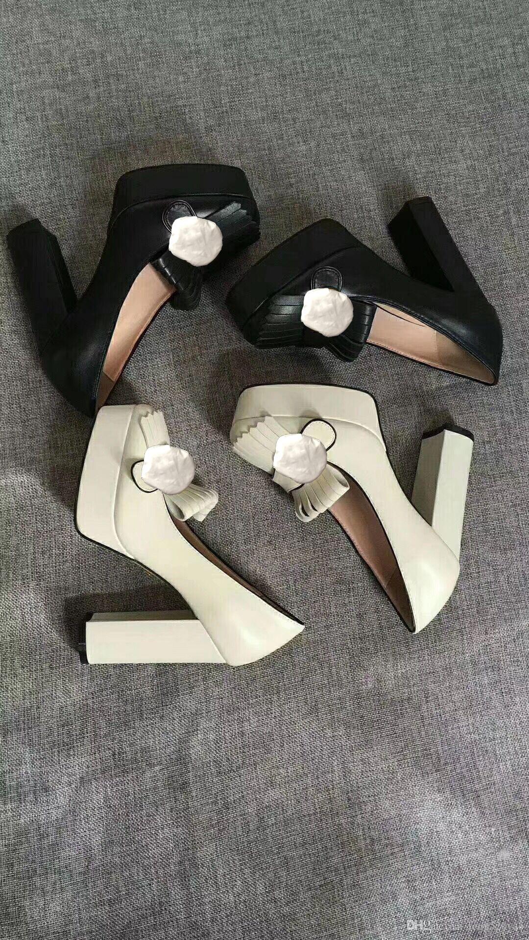 Classique designer peau de vache talons hauts Bar Sexy Banquet Princesse Chaussures de mariage super chaussures à talons hauts boucle en métal chaussures femme en cuir de luxe 41