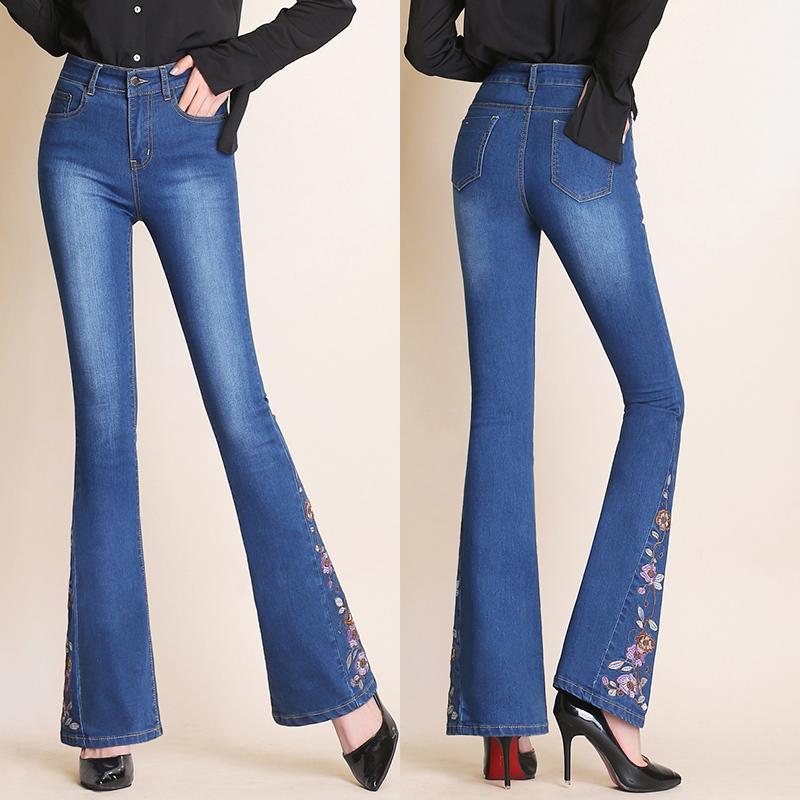 1501b7c9baf8 Pantalones vaqueros para mujer años 90 vintage azul de cintura alta  pantalones vaqueros mujer de alto elástico más el tamaño estiramiento  femenino ...