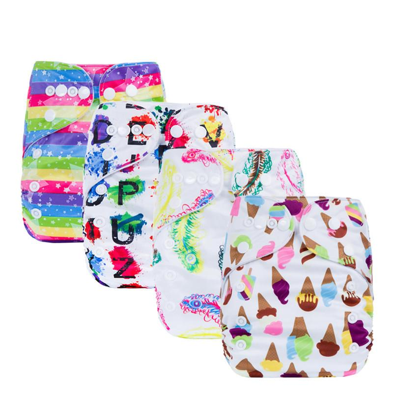 a8d09a910 2019 2018 Fashion Washable Diapers Couches Baby Diaper Cover Wrap ...