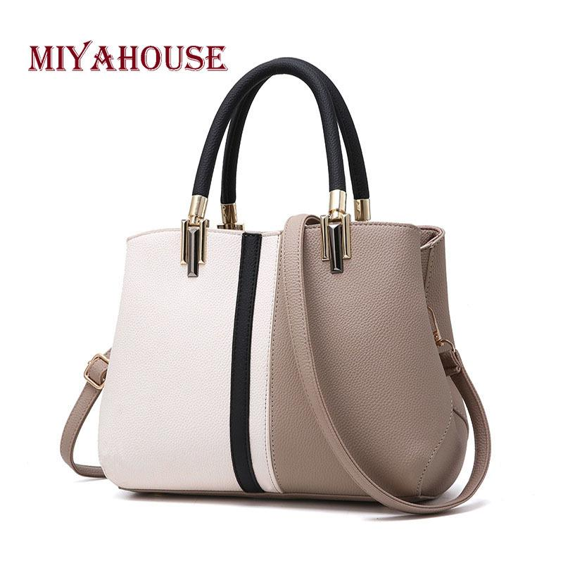 2019 Fashion Miyahouse Women Fashion Handbags Hit Color Messenger Bag For  Female Simple Casual Shoulder Bags Girls Crossbody Bag Clutch Bags Beach  Bags From ... 83c3570a92bce
