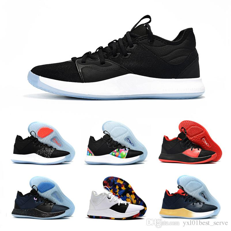 3a306027e7b 2018 New Paul George 3 Console Mens Basketball Shoes for Good Quality  Multicolor PG III Chaussures Classic Sports Shoes Sneakers SIZE 7-12 Paul  George 3 ...