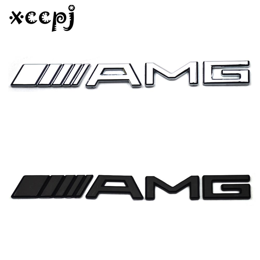 2019 car styling word letter 3d logo car sticker sport emblem badge door decal auto accessories for amg b c e c260 cla cls g glk gls from baixiangguo