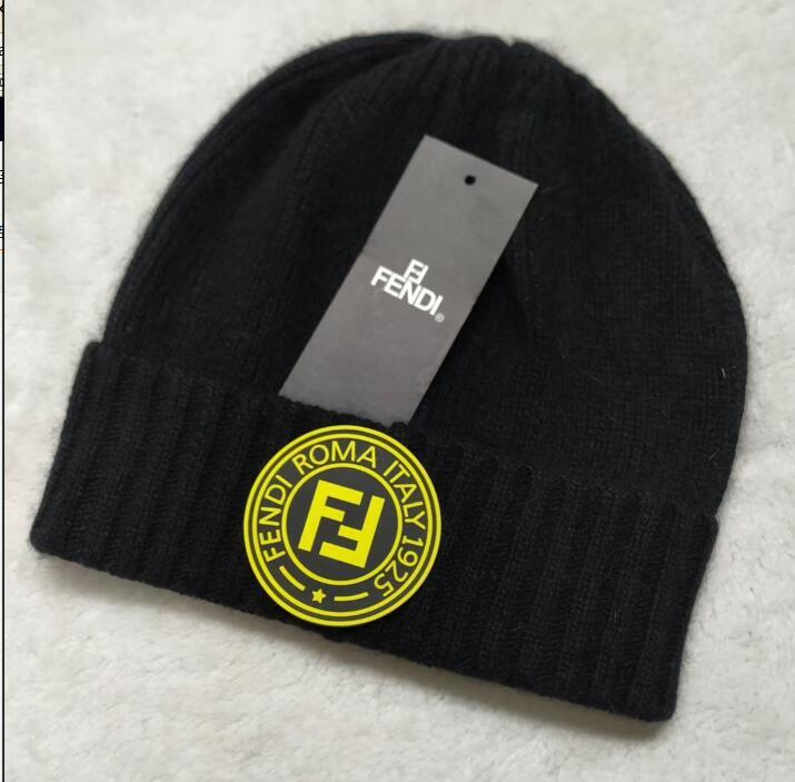 e48048250a3 2019 2018 Newest Itly Fashion Winter Brand F FF Men Winter Beanies Men Hat  Casual Wool Knitted Sports Outdoor Hip Hop Cap Ski Gorros Skull Caps From  ...