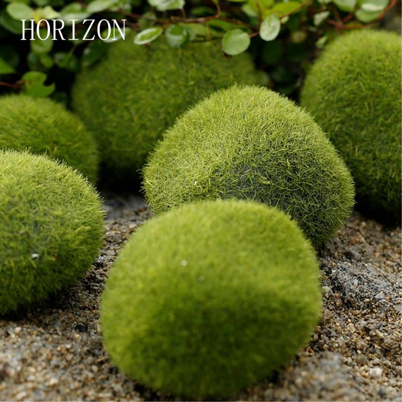 stone moss New Green Artificial Moss Stones 3 sizes to Choice Grass Bryophytes Home Garden Bonsai terrariums home decoration accessories