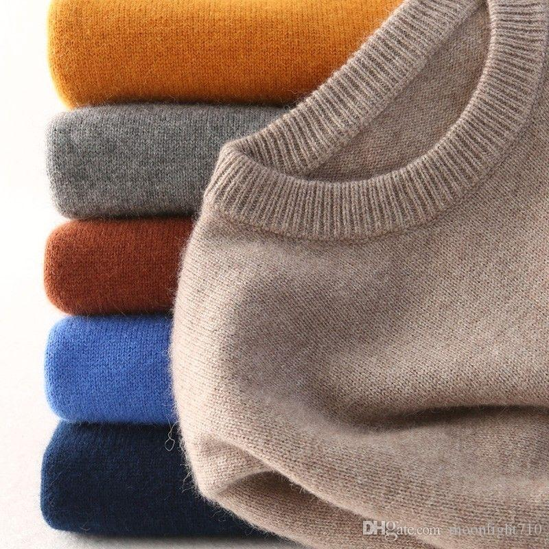 Cashmere cotton sweater men autumn winter jersey Jumper Robe hombre pull  homme hiver pullover men o-neck Knitted sweaters