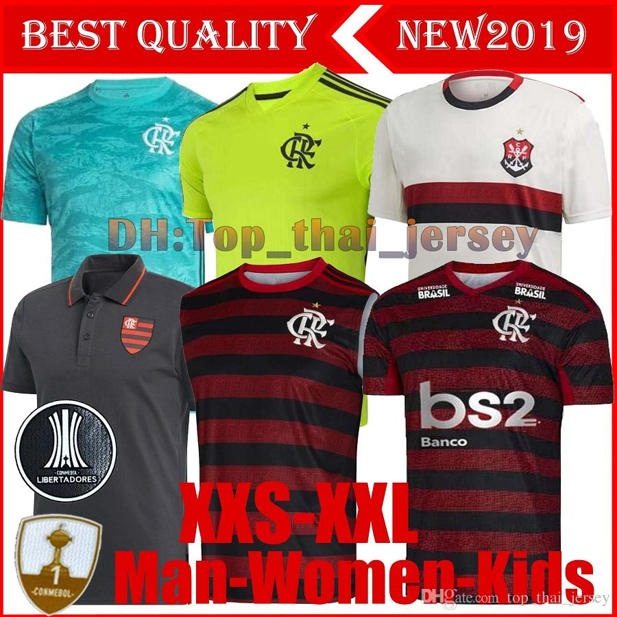 19 20 polo flamengo jersey 2019 2020 Flemish GUERRERO DIEGO E.RIBEIRO Soccer Jerseys Flamengo GABRIEL B sports football man woman Kids shirt