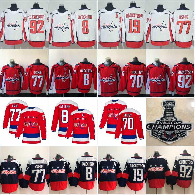 ee92b9688 Men Women Youth Washington Capitals Custom Hockey Jersey Alex ...