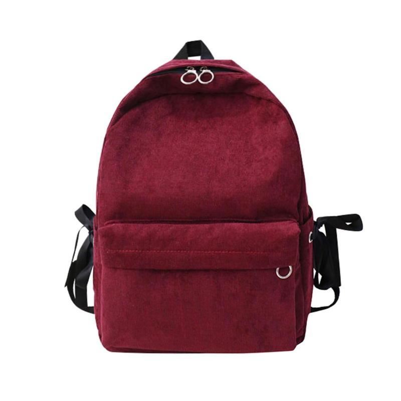 Corduroy teenage girls backpack women preppy style zipper schoolbag jpg  800x800 Big teenage girl backpack b5bd00ea34a9f