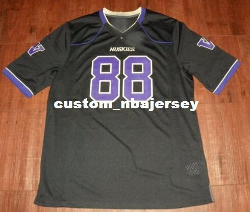 b36ce5226b6d Cheap Wholesale Washington Huskies Football Jersey NEW Sewing Custom ...