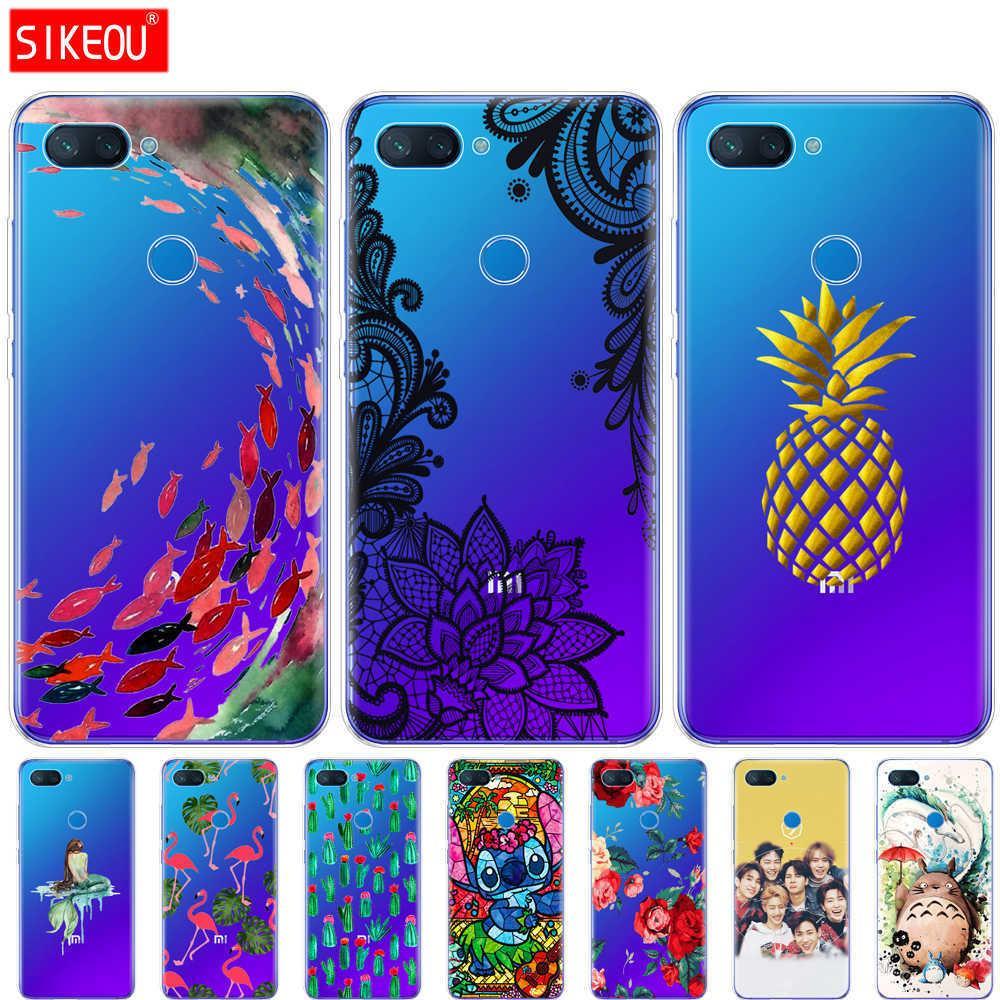 brand new d75b1 337f6 Silicone case For Xiaomi mi 8 LITE Case 6.26 inch soft tpu phone Case For  Xiaomi mi 8 lite Back Cover For Xiaomi mi8 coque cape