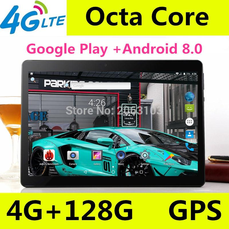 Nuovo T900 Android 8.0 Smart tablet pc Android tablet pc 10,1 pollici Octa core computer Ram 4GB Rom 128GB 1920X1200 8MP