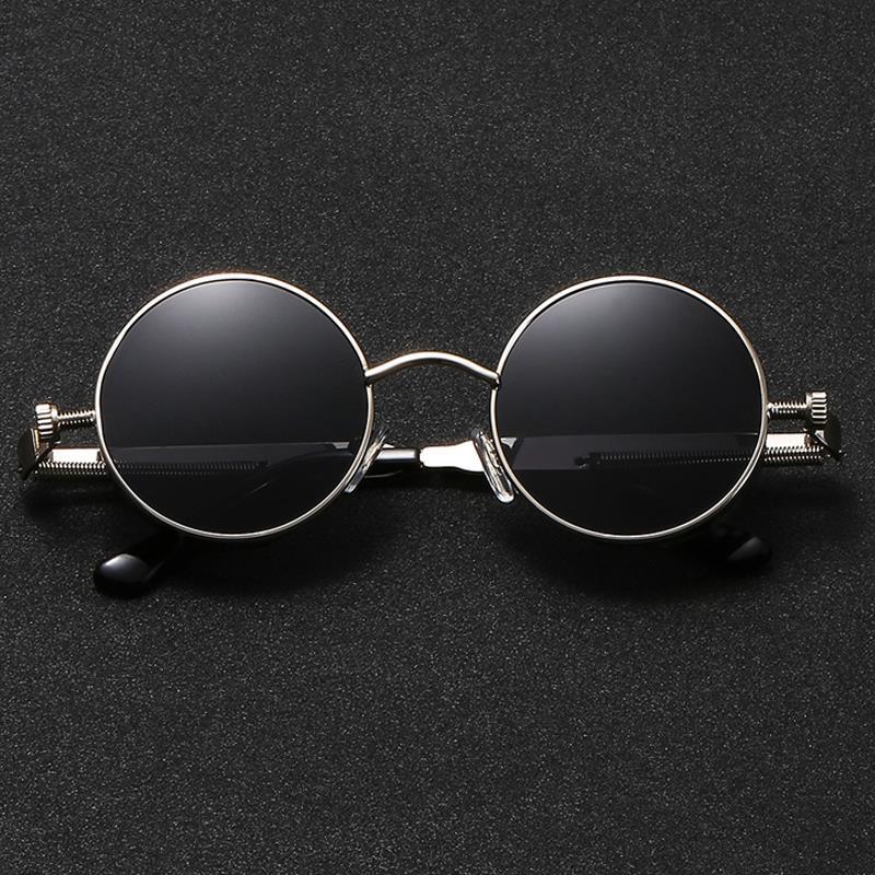 a5c0f9b6d3d LongKeeper Retro Steam Punk Sunglasses Women Round Metal Frame Steampunk  Sun Glasses Men Vintage Ocean Lens Eyewear Uv400 Sunglasses At Night  Sunglasses ...