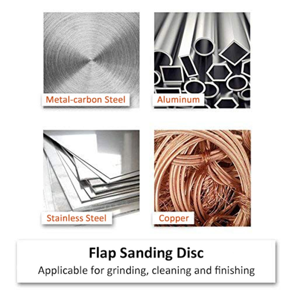 10PSC 100mm 40-320 Grit Grinding Wheels Flap Discs Angle Grinder Abrasive Tool Polishing Sanding Grinding Wheel