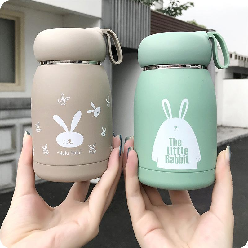 Stainless Steel thermos Bottle Mug Vacuum Flasks Belly Cup Thermal Bottle For Water Insulated Tumbler For kids coffee animal