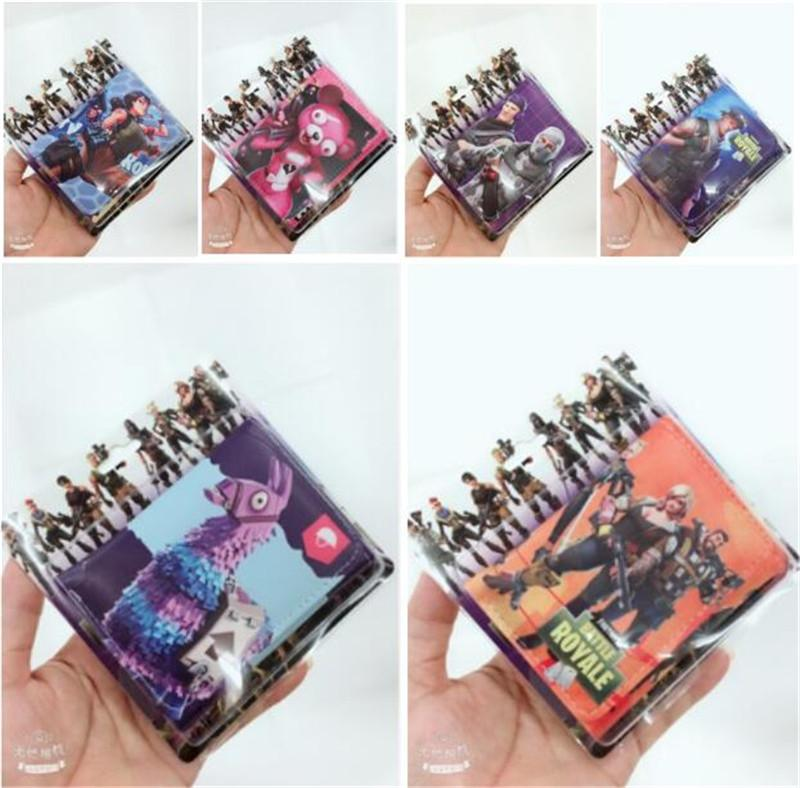 2019 Game Fortnite Cosplay Wallet Battle Royale Pu Wallets With Card