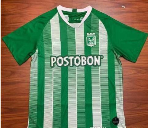 343d05ac0 2019 20 Atletico Nacional Medellin Mens Soccer Jerseys LUCUMI Home ...