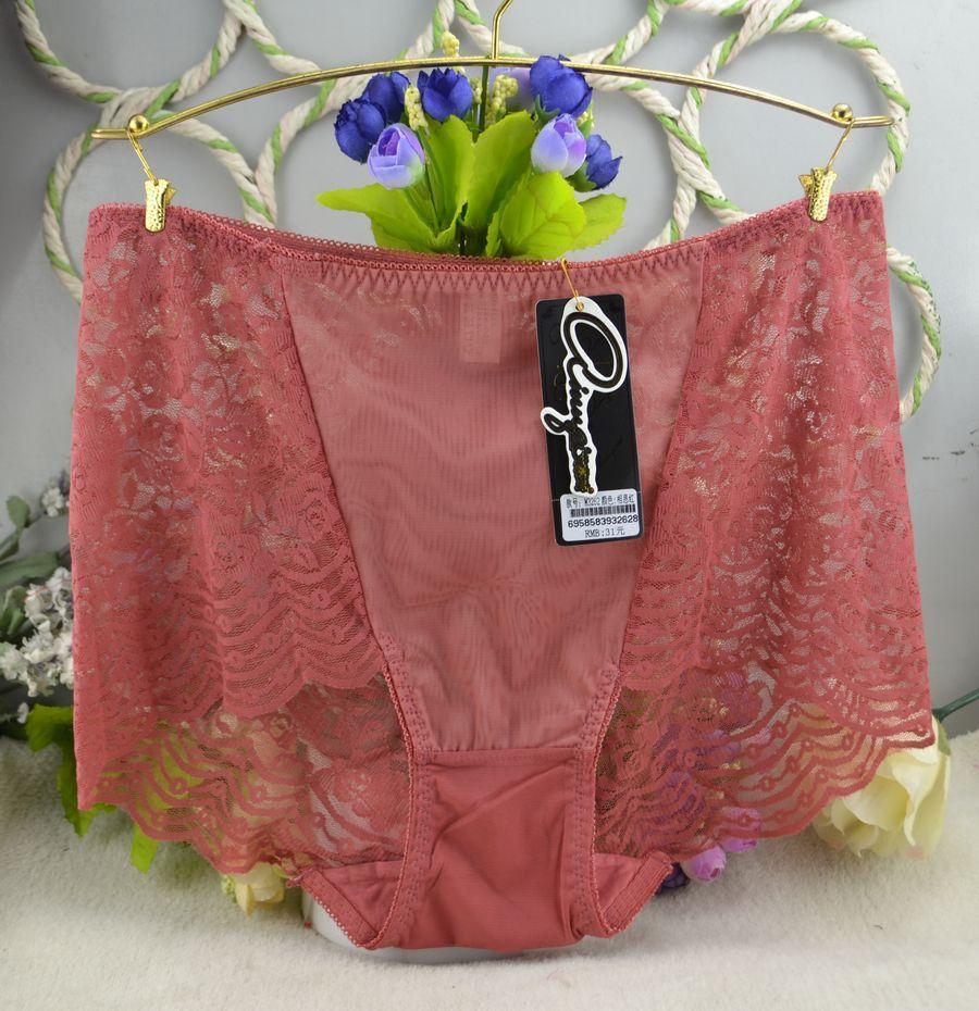 4224771e88c5 Gift full beautiful lace Women's Sexy lingerie lace Underwear Panties  Briefs Ladies XL 3pcs/lot