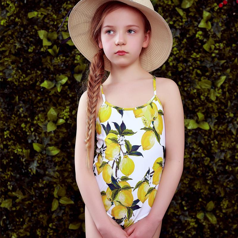 dfe3546c5b 2019 W.L.MONSOON Baby Girls Swimwear Bikini Summer One Piece Swimsuit Floral  Print Children Swim Wear Bathing Suit Kids Bikini From Usefully16, ...