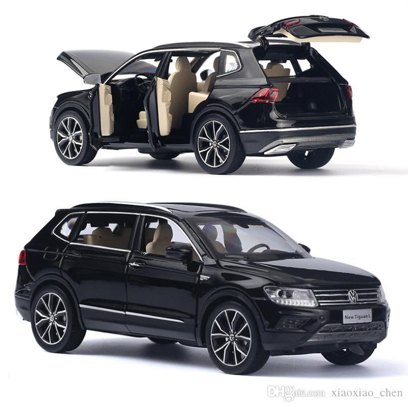 2020 Six Open Door SUV VW Tiguan L 1:32 Alloy Pull Back