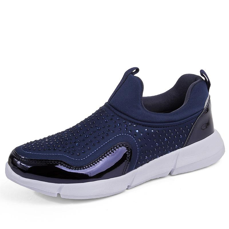 b8d087862f83 Womens Casual Shoes Fashion Sneakers Woman Plus Size Increased Internal  4.5cm Unisex Outdoor Trend Track Shoes Ladies Loafers Online with  $61.83/Piece on ...